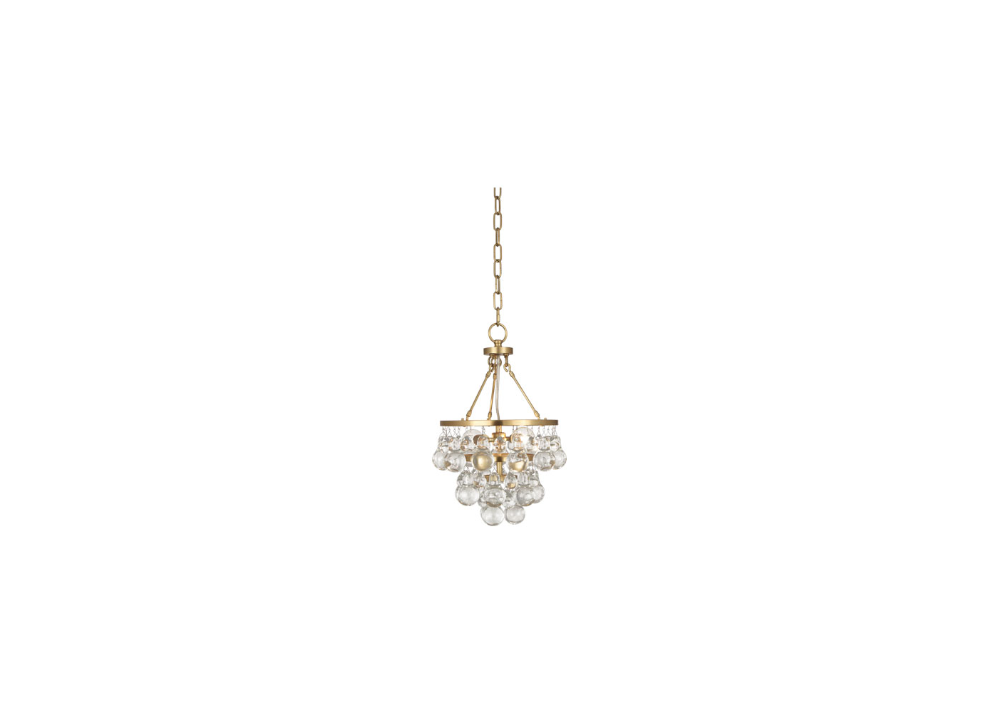 adler chandelier gold small gabby