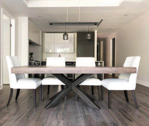 Contemporary Furniture Store Ottawa - Home Staging Project - Dining Room