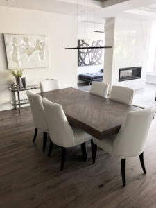 Contemporary Furniture Store Ottawa - Home Staging Project - Full Room
