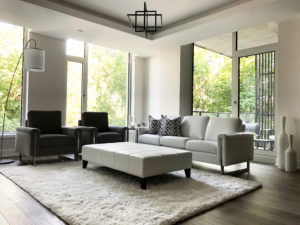 Contemporary Furniture Store Ottawa - Home Staging Project - Living Room